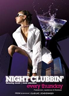 Night Clubbin' (flyer)