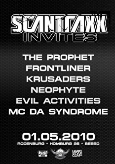 Scantraxx invites (flyer)
