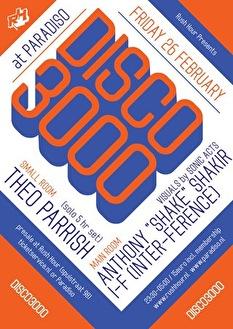 Disco 3000 (flyer)
