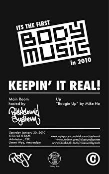 Body Music (flyer)