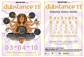 Dubstance Pt. XI (flyer)