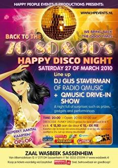 Happy disco night (flyer)