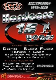 15 Years of Hardcore (flyer)