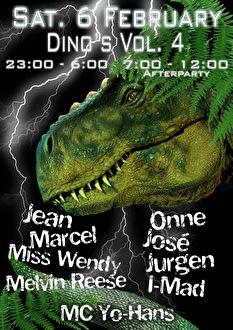 Return of the Dino's (flyer)