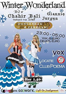 Winter Wonderland (flyer)