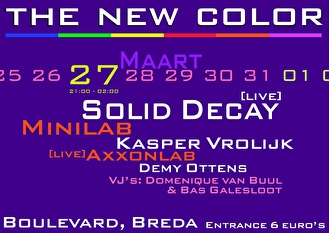 The New Color (flyer)