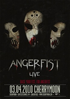Angerfist live (flyer)