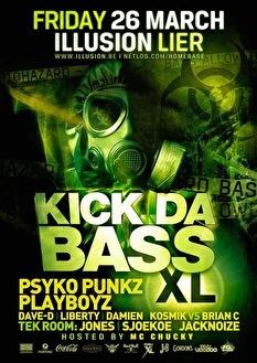 Kick Da Bass XL (flyer)
