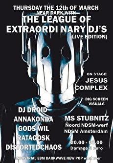 The League Of Extraordinary DJ's (flyer)