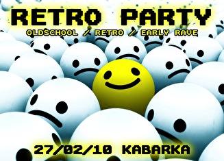 Retro Party (flyer)