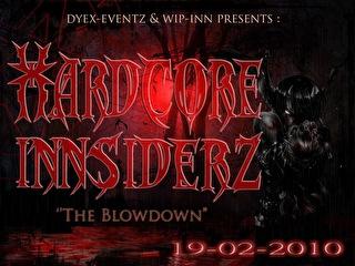 Hardcore Innsiderz (flyer)