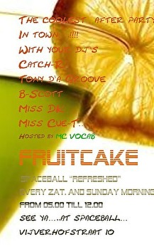 Fruitcake Afterparty (flyer)