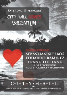City Hall loves Valentijn (flyer)