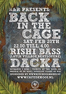 Back in the Cage (flyer)