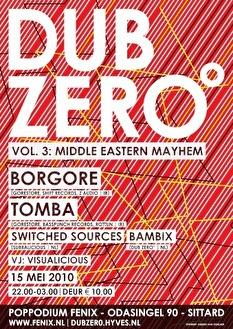 Dub Zero° (flyer)