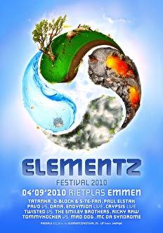 Elementz Festival 2010 (flyer)