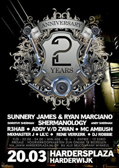 2 Years Anniversary (flyer)