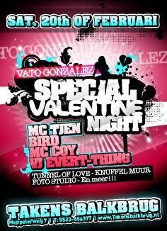 Vato's Valentine Party (flyer)