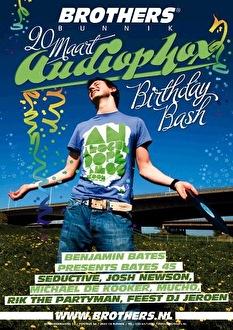 Audiophox Birthday Bash (flyer)