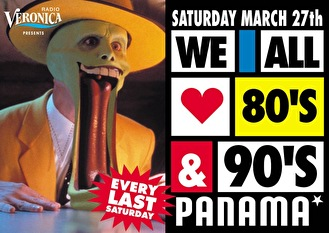 We All Love 80's & 90's (flyer)