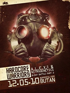 Hardcore Warriors (flyer)