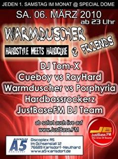 Warmduscher & Friends (flyer)