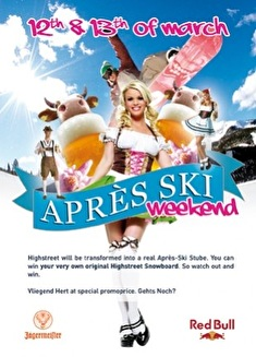 Apres Ski Weekend (flyer)