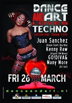 DnA loves Techno (flyer)