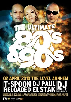 The Ultimate 80's & 90's (flyer)