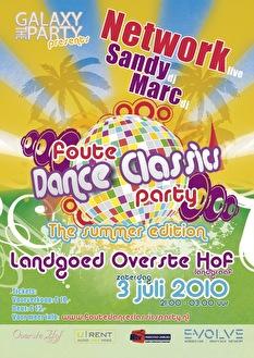 Dance classics party (flyer)