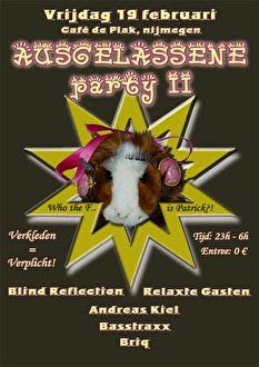 Ausgelassene party 2 (flyer)