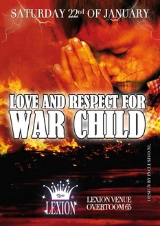 Love and Respect for War Child (flyer)