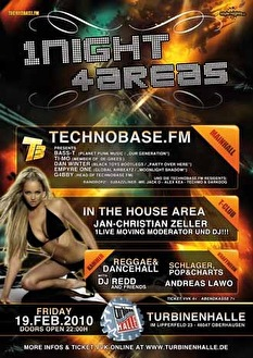 Mega dance invasion (flyer)