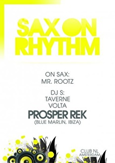 Sax On Rhythm (flyer)