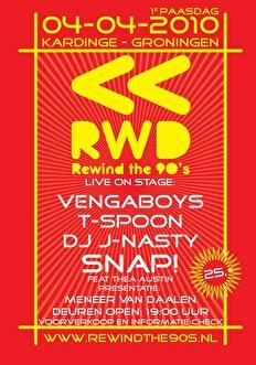 Rewind the 90's (flyer)