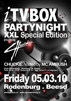 itv box Partynight (flyer)