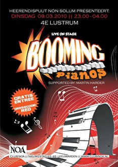 Booming Piano's (flyer)
