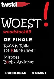 Woest Woodstock! (flyer)