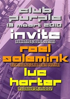 Purple Invite (flyer)