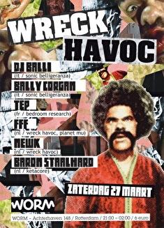 Wreck Havoc (flyer)