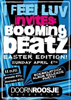 I Feel Luv invites Boomingbeatz (flyer)