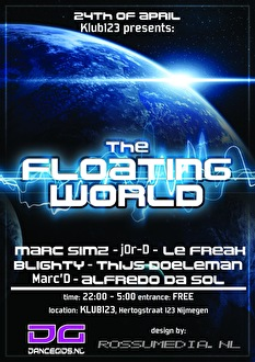 The Floating World (flyer)
