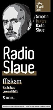 Simplon invites Radio Slave (flyer)