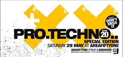 Pro Techno #20 (flyer)