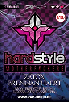 Hardstyle Motherf#ckers (flyer)