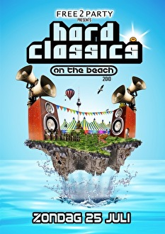 Hard Classics on the Beach (flyer)