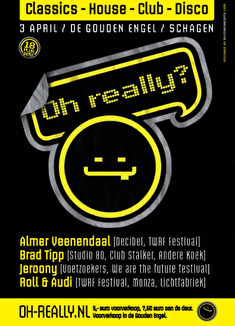 Oh Really? (flyer)
