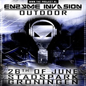 flyer Enzyme Invasion Outdoor