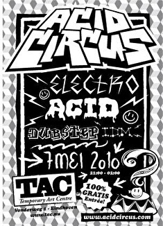 Acid Circus DJ's (flyer)