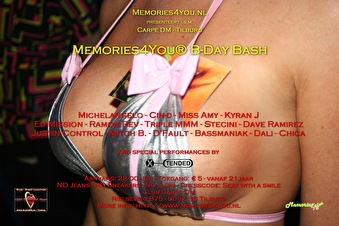 Memories4You® B-Day Bash (flyer)